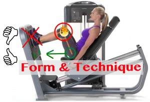women's strength training form and technique