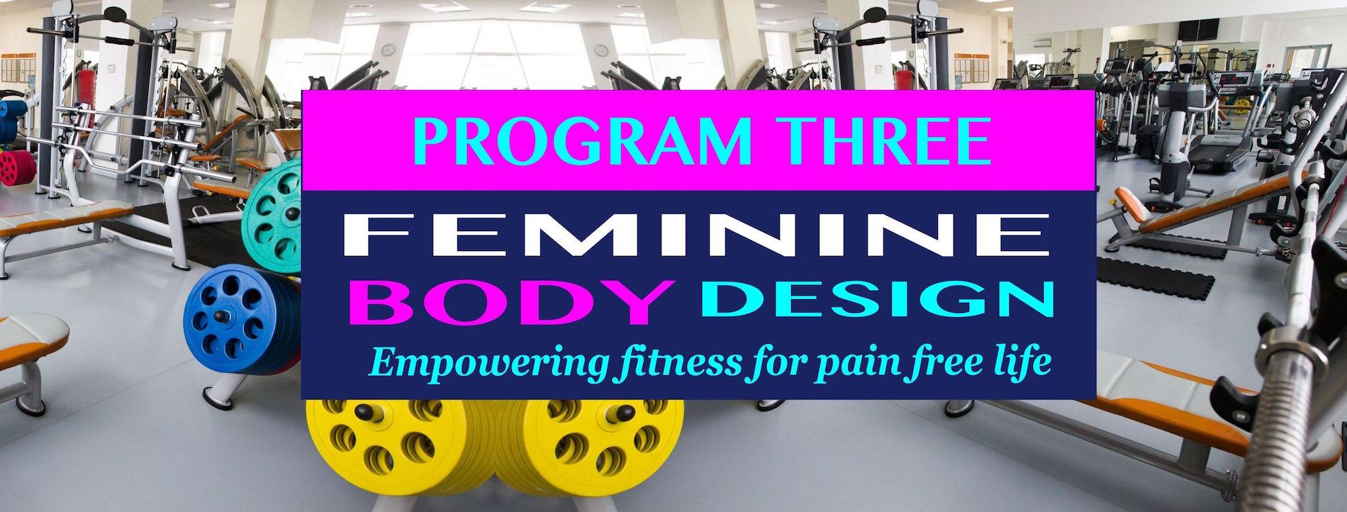 Feminine Body Design Program 3