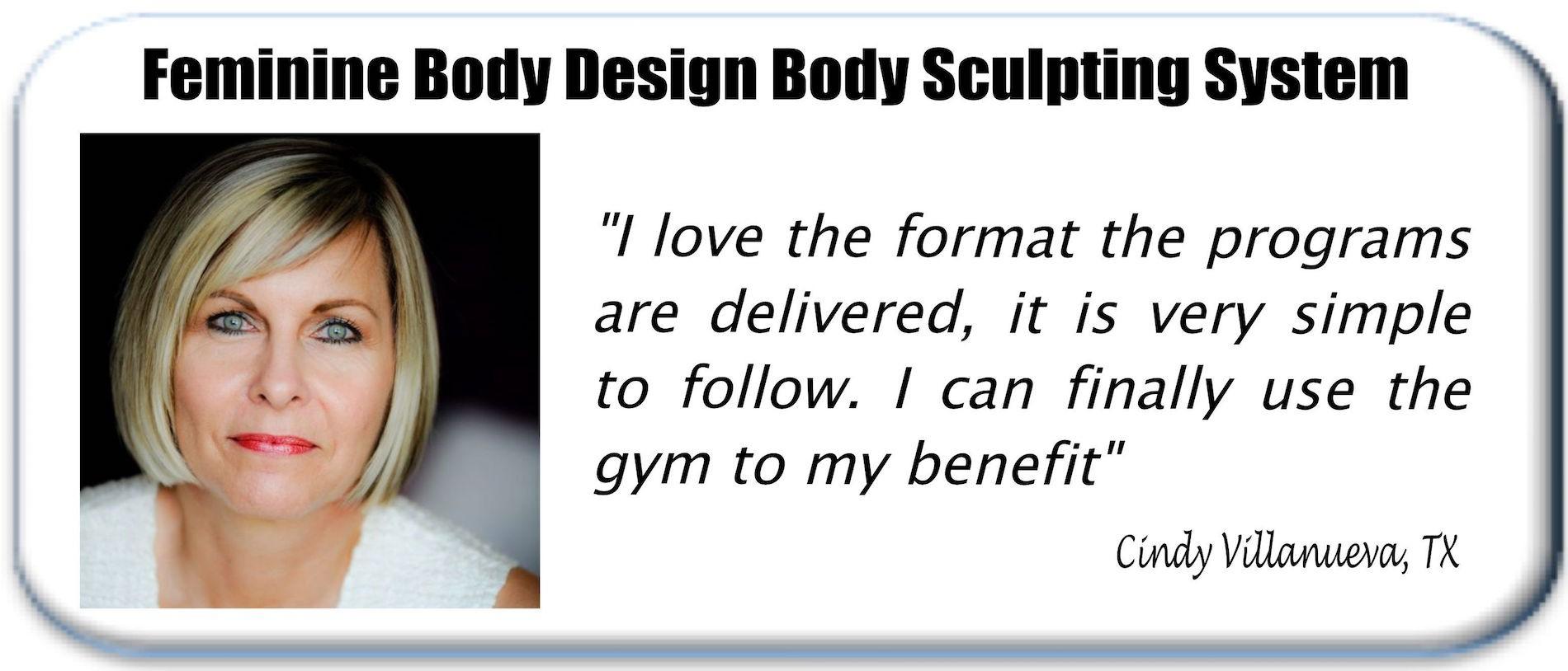 Feminine Body Design women's strength training testimonial