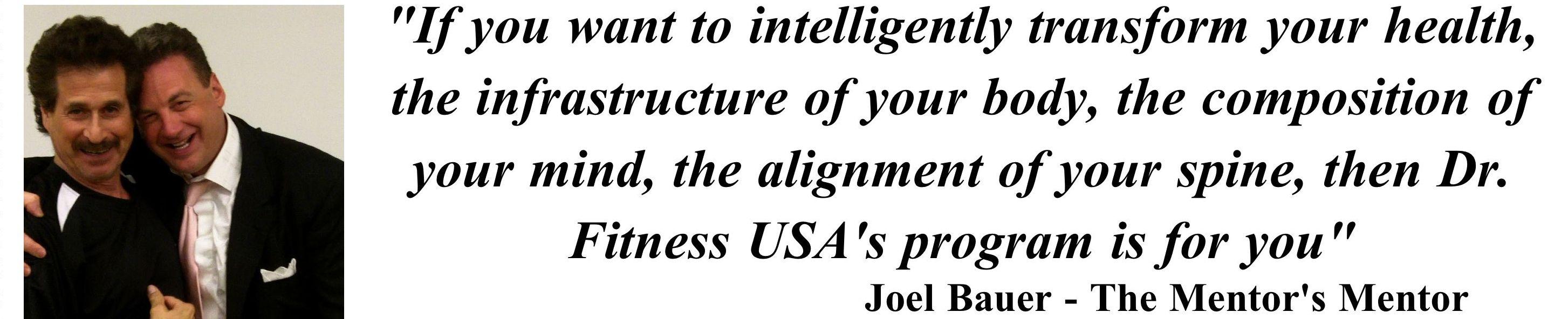 Joel testimonial